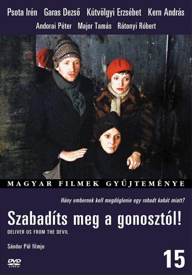 Sándor Pál: Szabadíts meg a gonosztól! című filmje DVD-kiadásának borítója